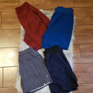 Lululemon Shorts set x4
